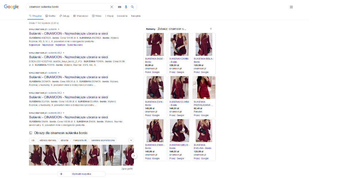 kampania google ads produktowa