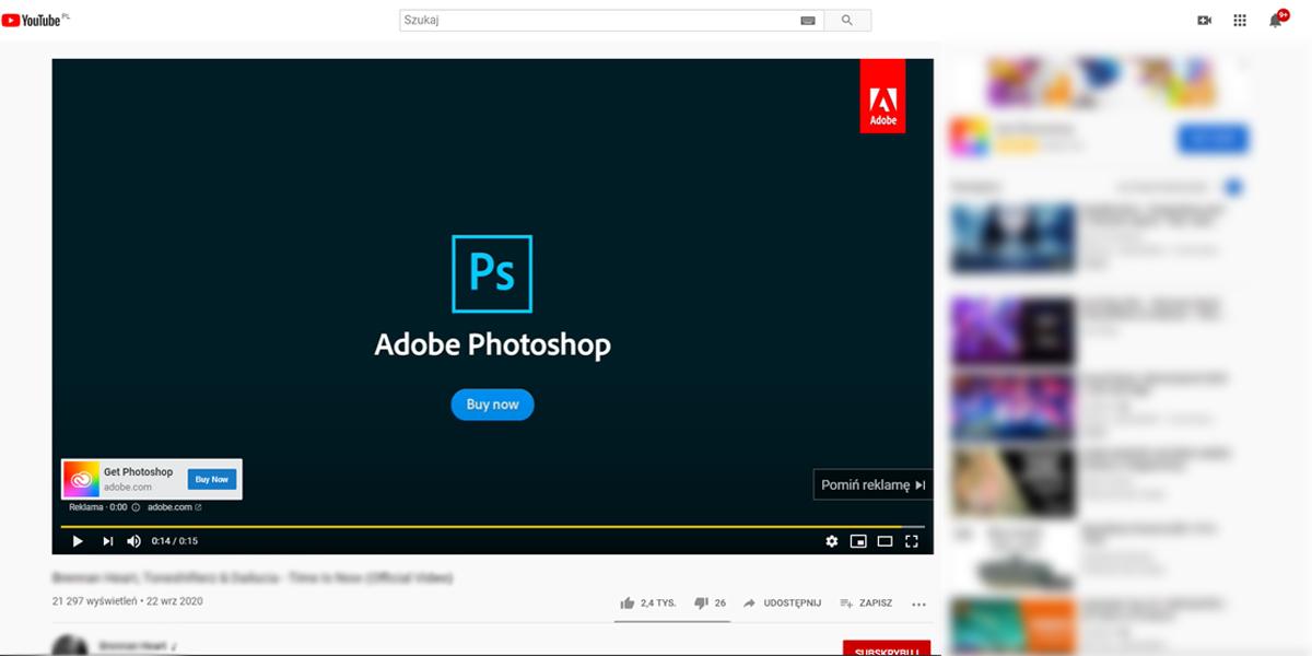 kampania reklamowa google ads na you tube